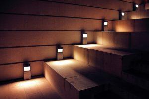 outdoor lighting stairs